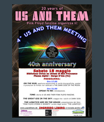 The Lunatics Exhibitions - Us And Them Meeting 18 mag 2013